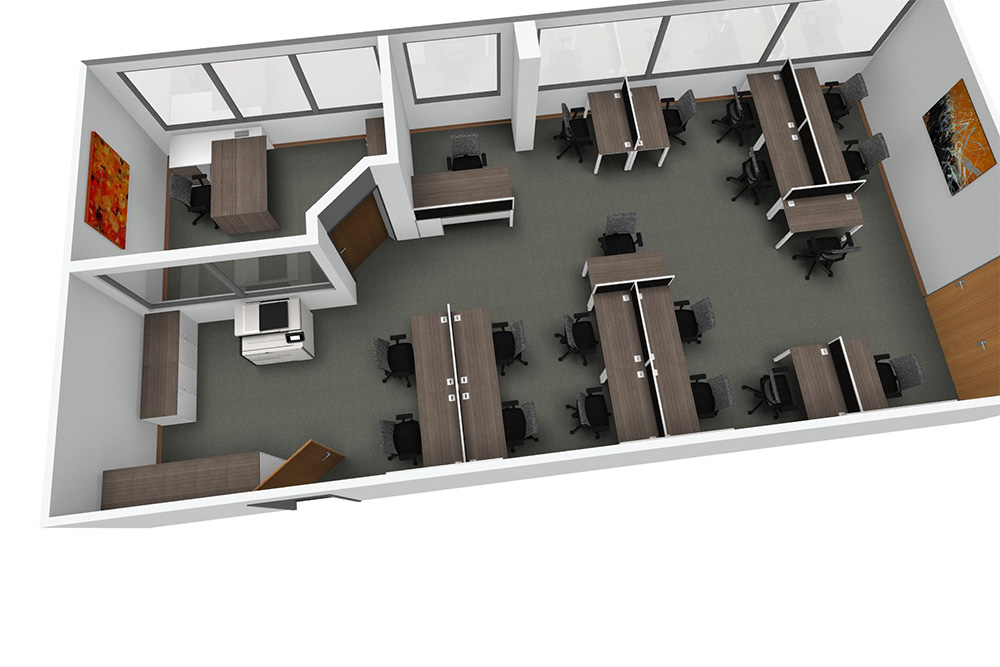 Office Interior Space Planning Design Across The North West