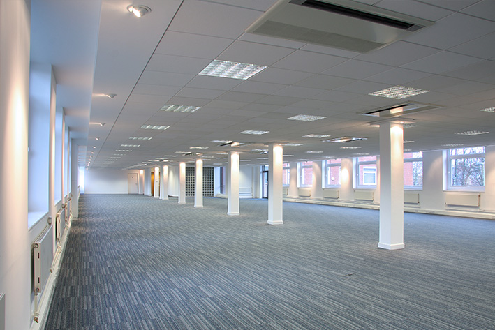Office interior refurbishment services across the north west for Office refurbishment
