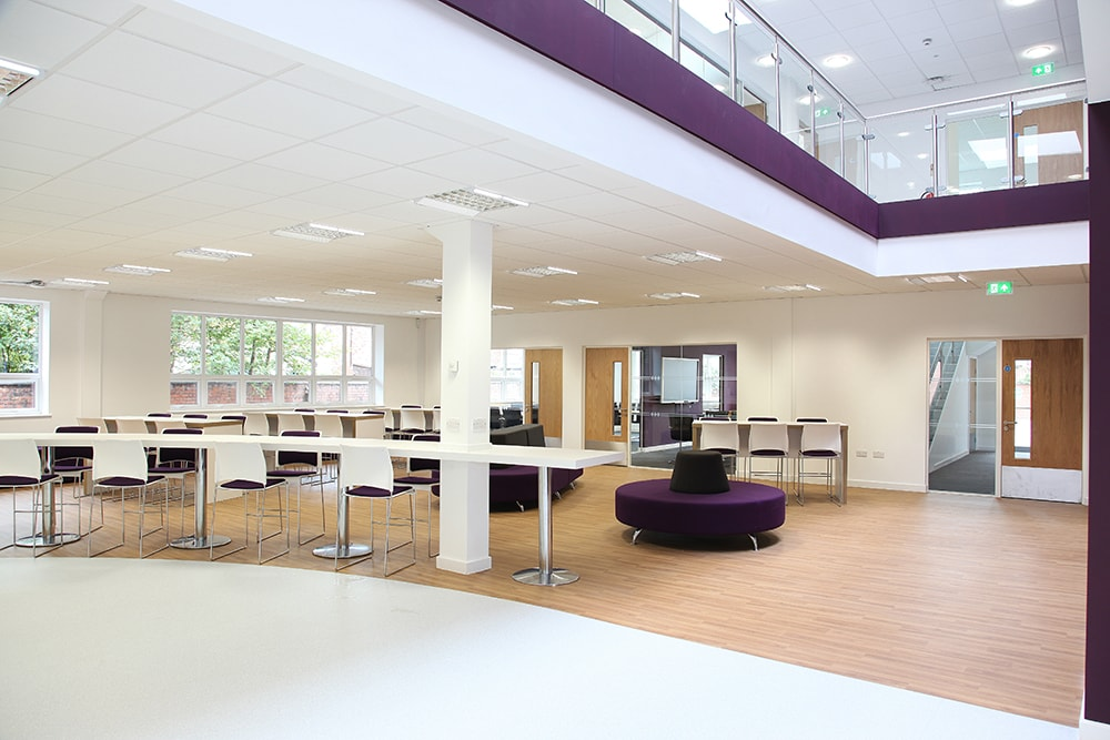 Office fit out specialists across the north west for Office fit out